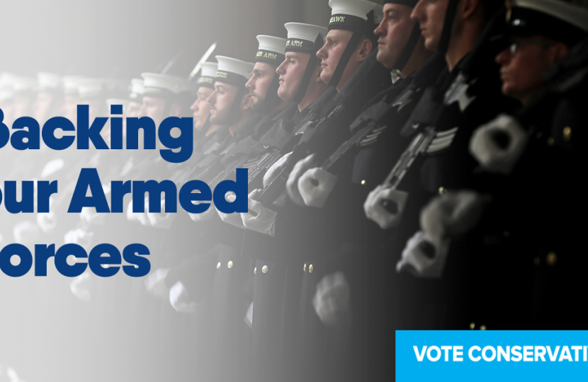 Our plan to support the Armed Forces that keep our nation safe